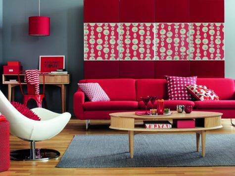 Red Living Room Ideas Decorate Modern Sets