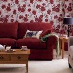 Red Living Room Ornaments Get Furnitures Home