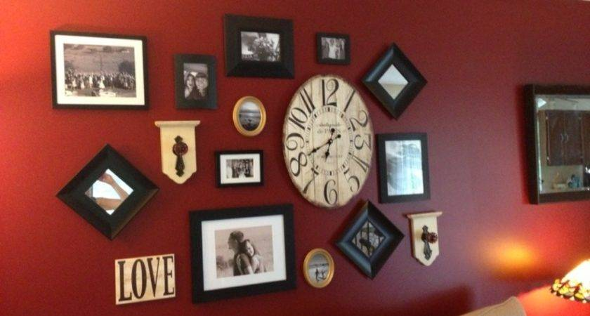 Red Wall Art Decor Bridal Shower Ideas Useful Tips