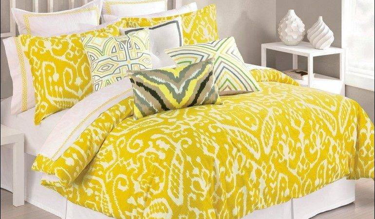 Red Yellow Comforter Sets Bedroom Awesome Bedding Gray