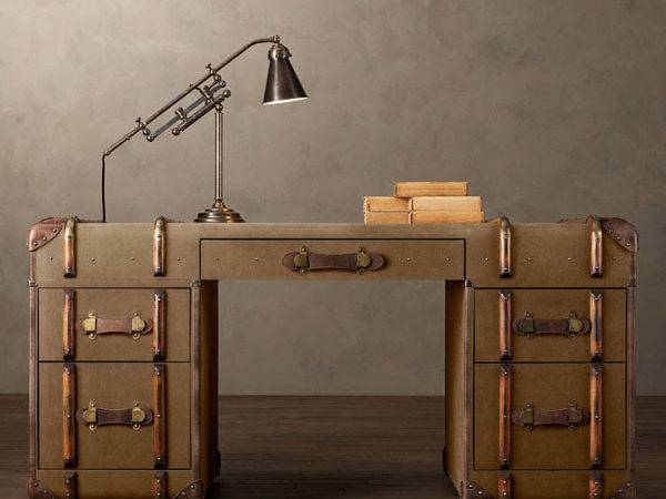 Refined Vintage Furniture Items Made Out Old Trunks