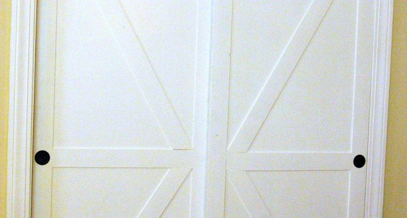 Remodelaholic Make Bypass Closet Doors Into
