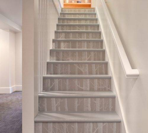 Replace Stair Treads Risers Home Design Ideas