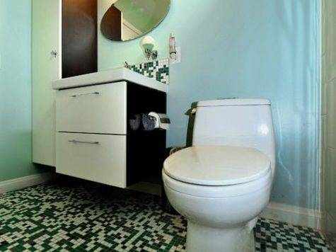Retro Modern Bathroom Home Design Ideas Remodel