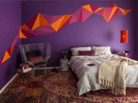 Retro Wall Paint Designs Ideas Design Trends
