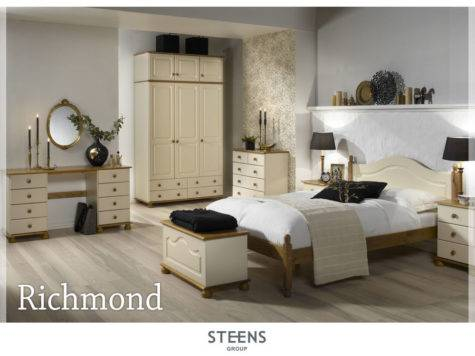 Richmond Cream Pine Bedroom Furniture Wardrobes