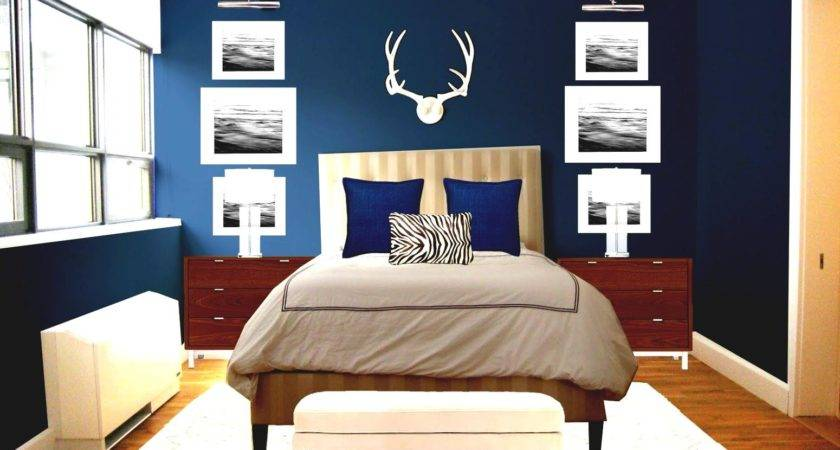 Romantic Blue Master Bedroom Ideas Bed Couple