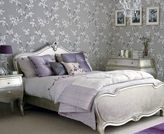 Romantic Flourish Charming Wall Decor Bedroom