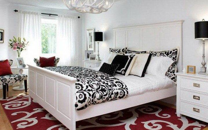 24 Perfect Images Black White And Red Bedroom Decorating Ideas Little Big Adventure