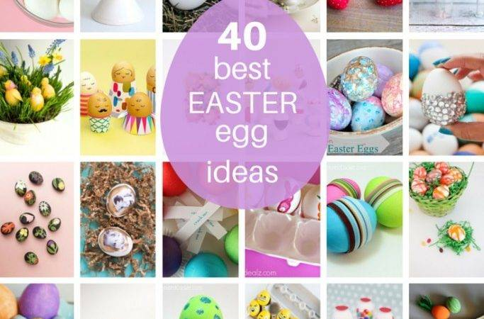 Roundup Easter Egg Decorating Ideas Food Craft