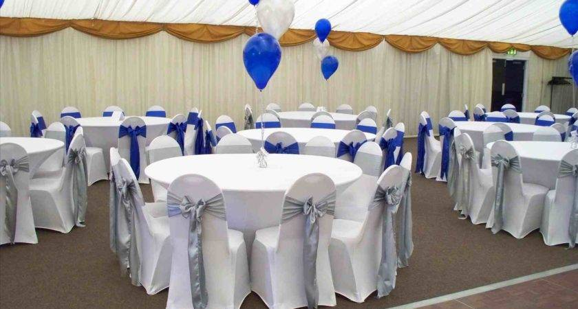 Royal Blue White Wedding Decorations Siudy