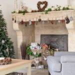 Rustic Christmas Decorating Ideas Cards