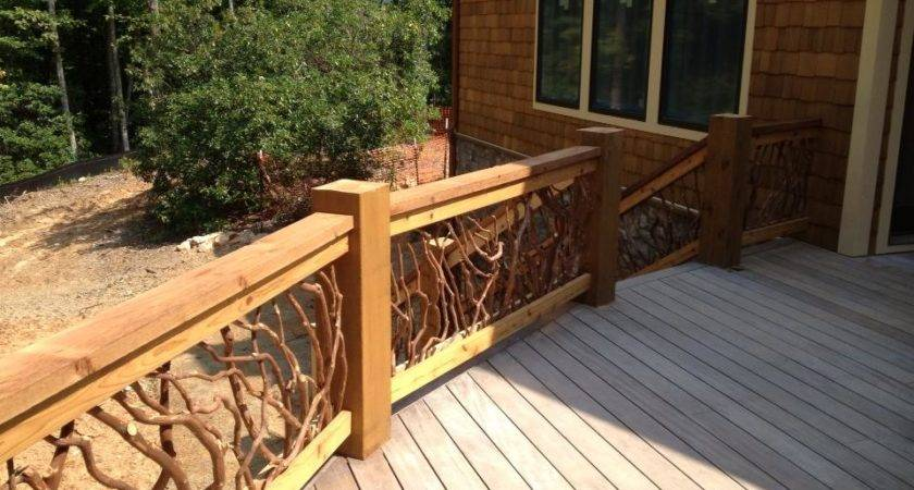 Rustic Deck Railing Ideas Imgkid