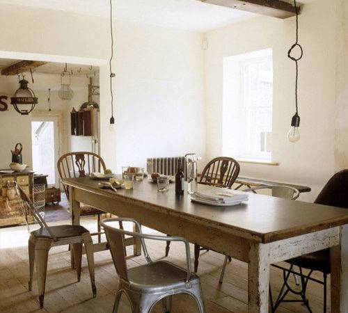 Rustic Dining Style Files