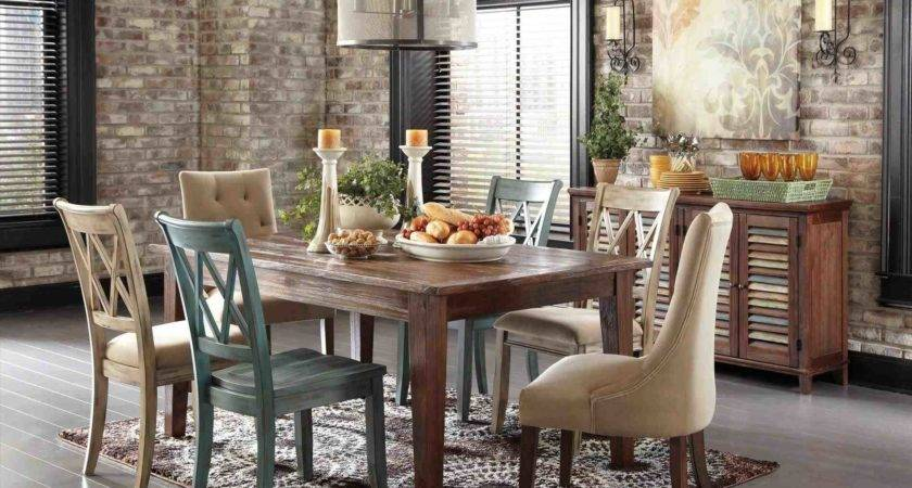 Rustic Dining Table Bench Chairs Temasistemi