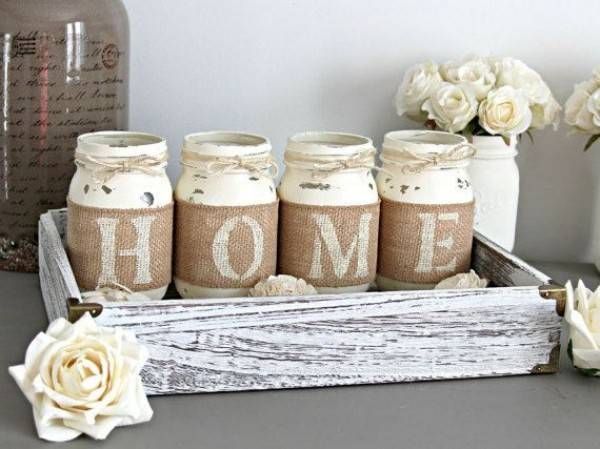 Rustic Diy Handcrafted Accents Warm Home Decor