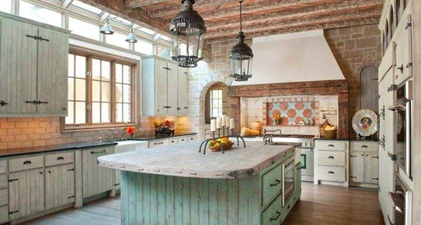 Rustic Kitchen Designs Embody Country Life