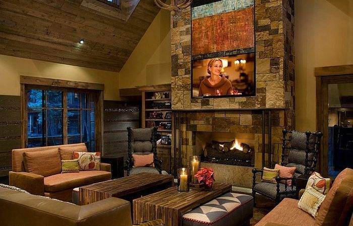 Rustic Living Room Ideas Cozy Organic Home
