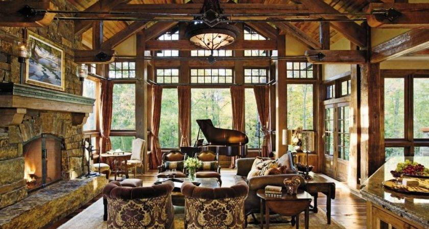 Rustic Living Room Locati Interiors Designfile