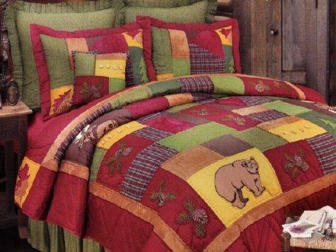 Rustic Lodge Quilt Bedding