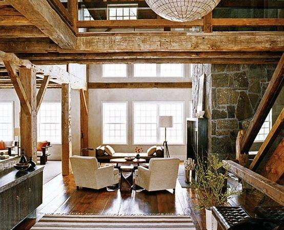 Rustic Modern Living Room Decor Design Ideas