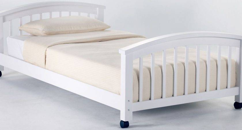 School House White Twin Student Loft Bed Lower