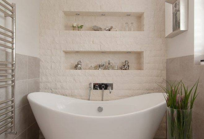 Seattle Small Freestanding Tub Bathroom Contemporary