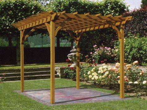 Select Various Types Wooden Pergola