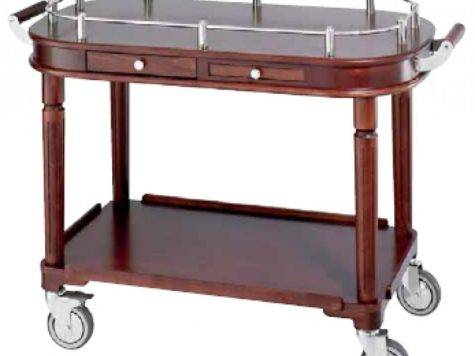 Serving Trolley Wood