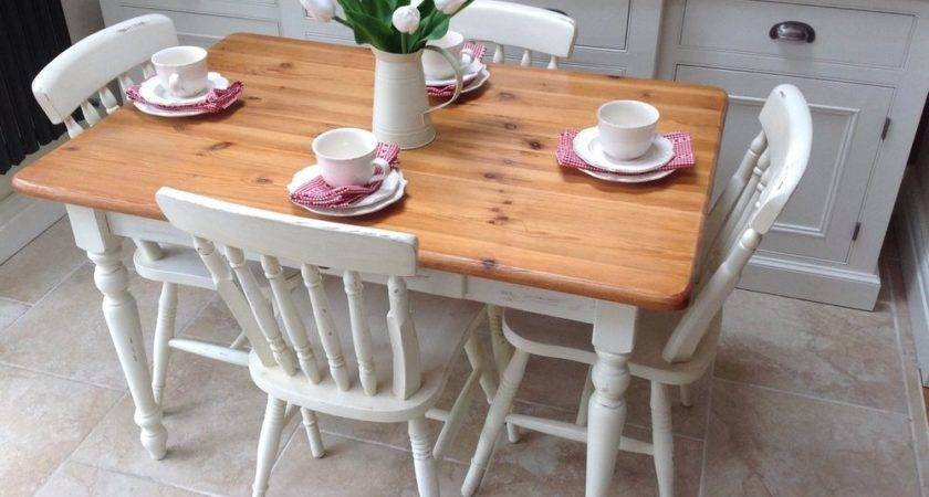Shabby Chic Farmhouse Table Chairs Ebay