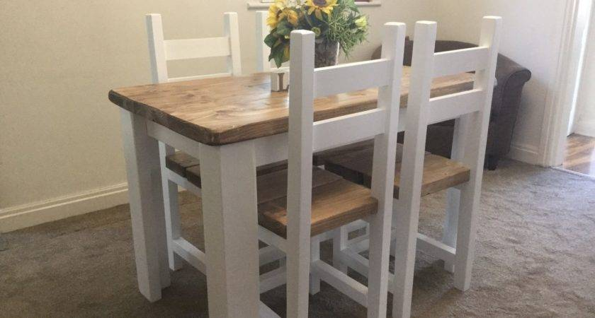 Shabby Chic Farmhouse Table Chairs Picclick