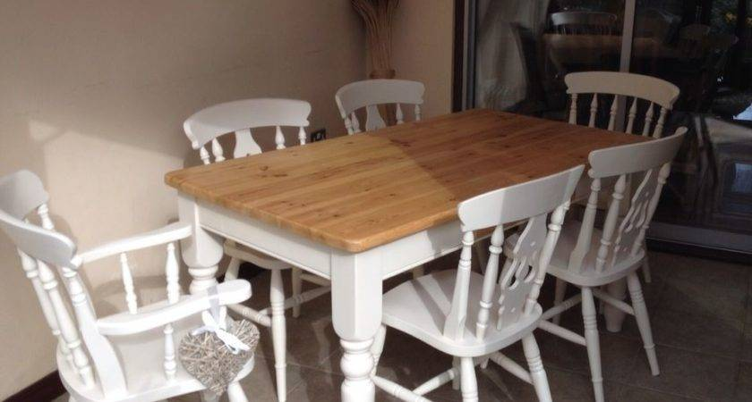 Shabby Chic Farmhouse Tables Collection Ebay
