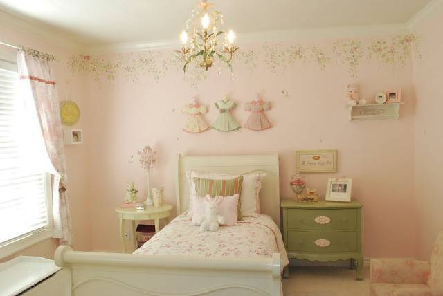 Shabby Chic Girl Room Design Dazzle