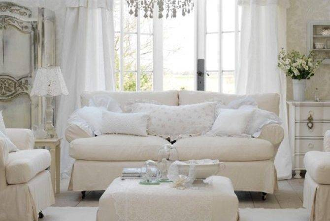 Shabby Chic Inspired Living Room Ideas