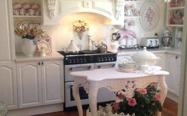 Shabby Chic Kitchen Cabinets Budget Small White
