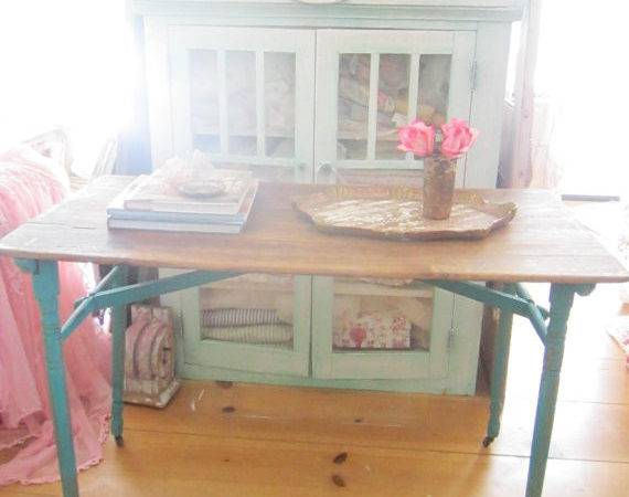 Shabby Chic Table White Farmhouse Coffee