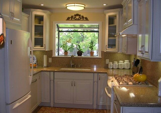 Shaped Kitchen Designs Small Kitchens Garage Wall