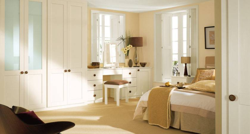 Sharps Wardrobes Fitted Bedrooms White Bedroom