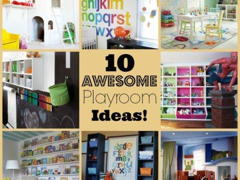 She Turned Her Dreams Into Plans Awesome Playroom Ideas
