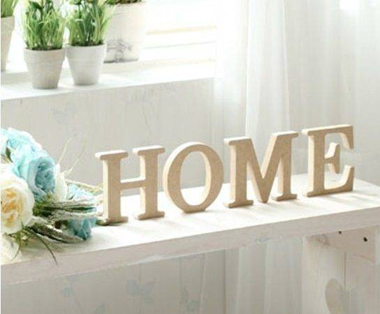 Shipping Pine Wooden Letter Piece