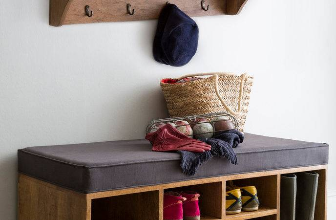 Shoe Storage Bench Traditional
