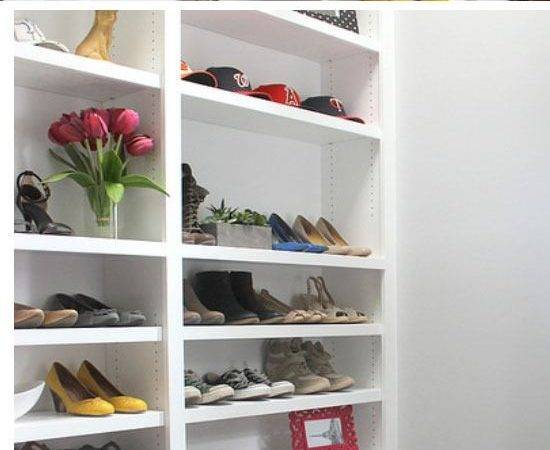 Shoe Storage Ideas Small Space