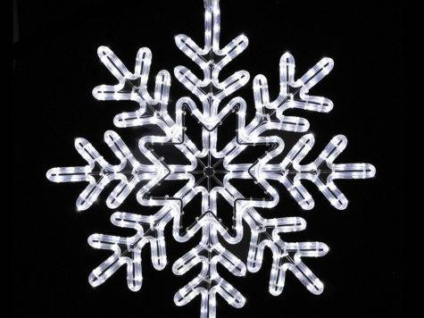 Shop Holiday Lighting Specialists Snowflake Outdoor