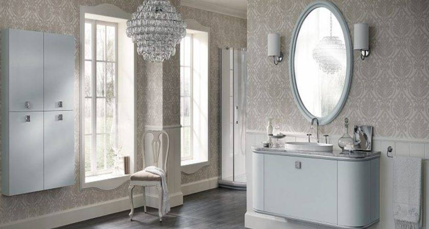 Silver Bathroom Vanity Italian Design Ideas