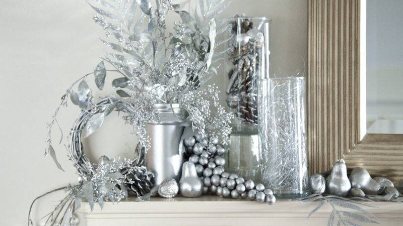 Silver Christmas Table Decorations Nice Design Home