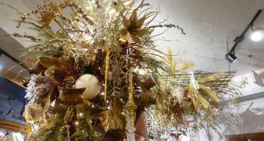 Silver Gold Christmas Tree