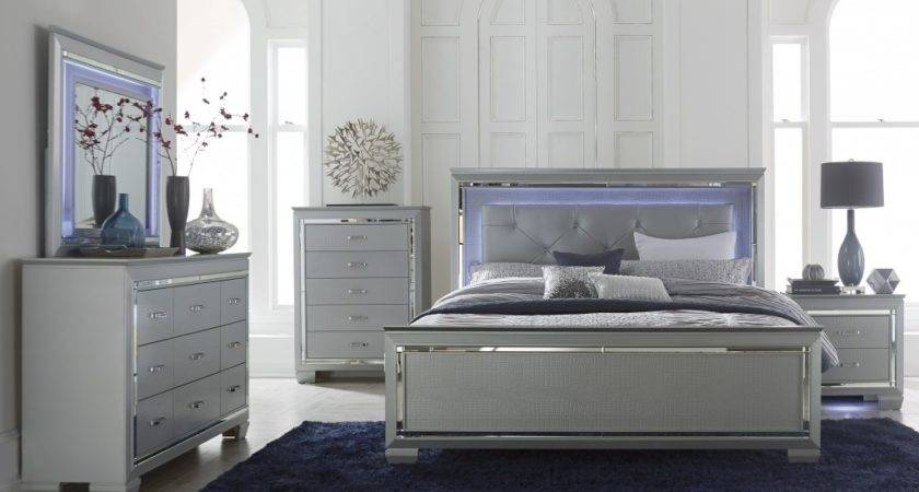 Silver Grey Bedroom Furniture Collections Design