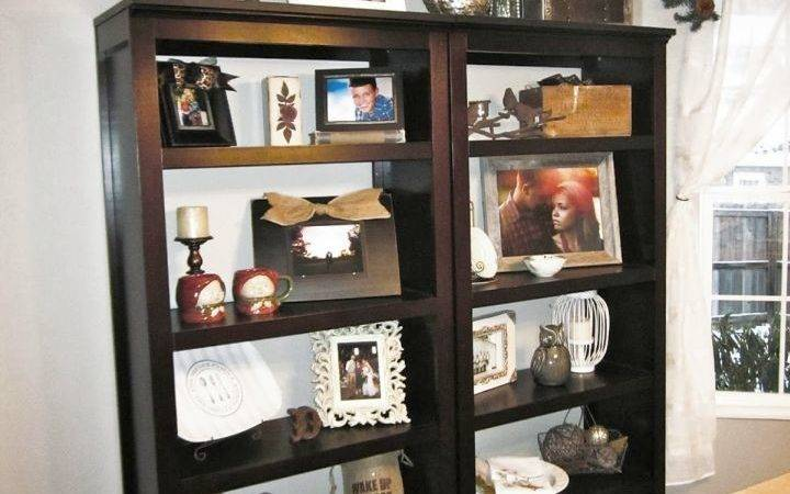 Simple But Attractive Bookshelves Decoration Dining Room