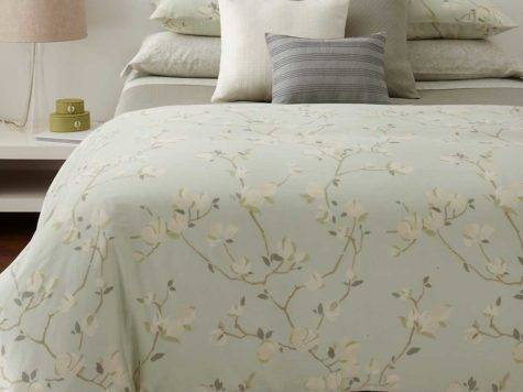 Simple Comforter Sets Yellow Grey White