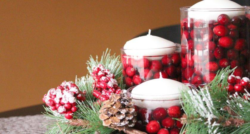 Simple Design Table Decorations Christmas Office Party